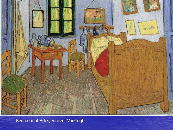 Bedroom at Arles, Vincent VanGogh
