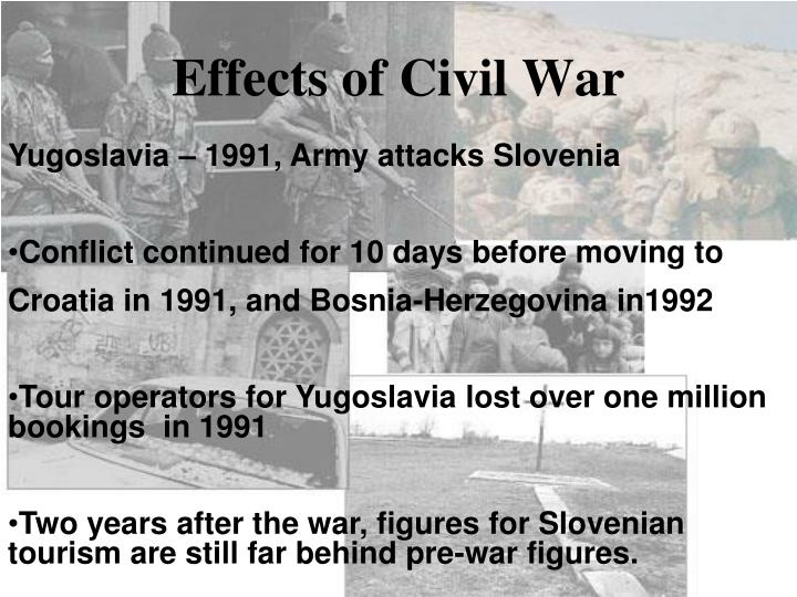 Effects of Civil War