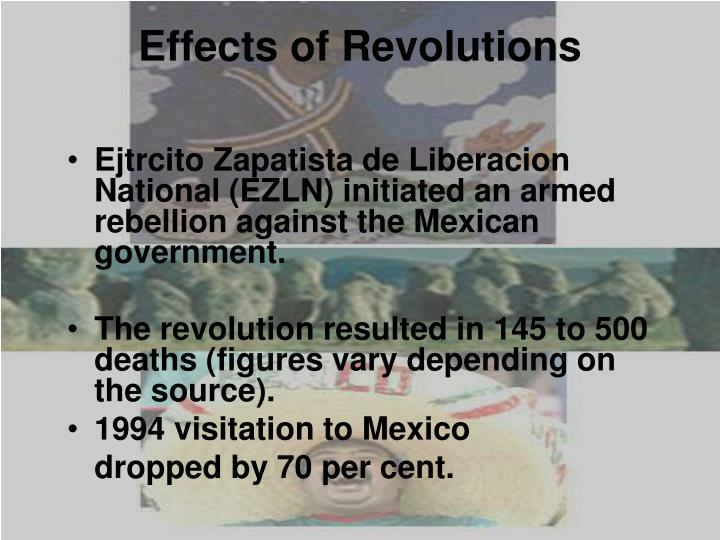 Effects of Revolutions
