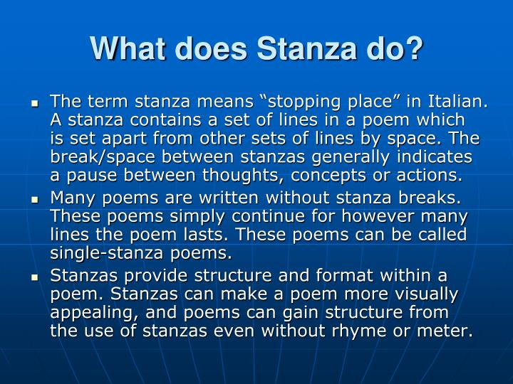 What does Stanza do?