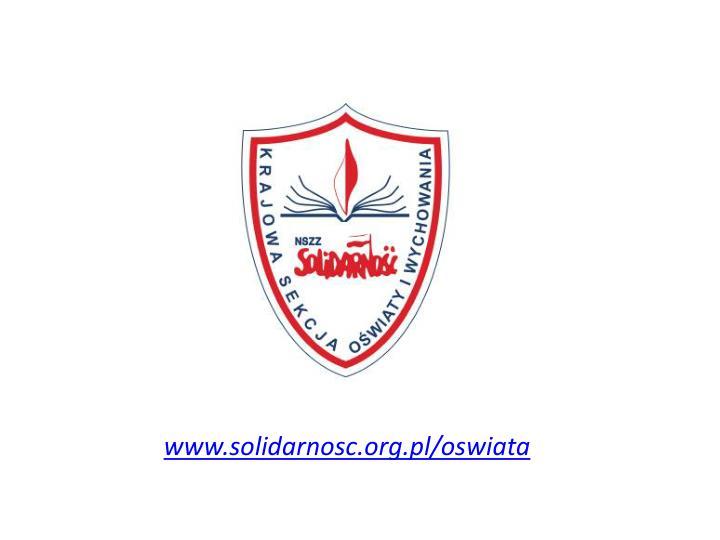 www.solidarnosc.org.pl/oswiata