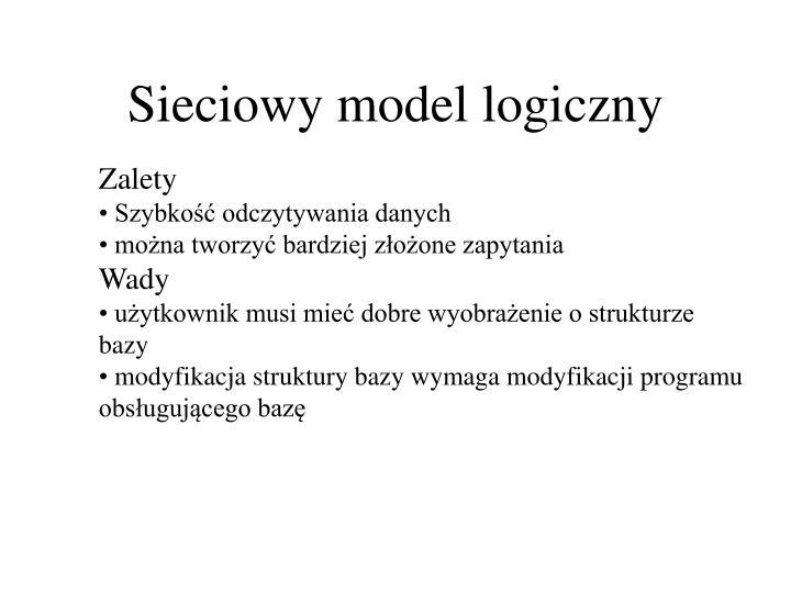 Sieciowy model logiczny