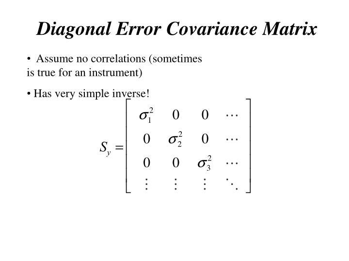 Diagonal Error
