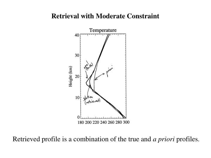 Retrieval with Moderate Constraint