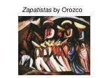 zapatistas by orozco
