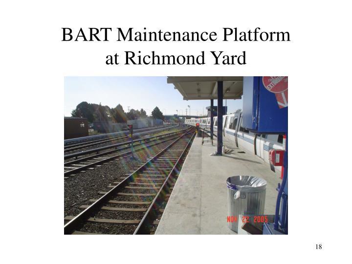BART Maintenance Platform