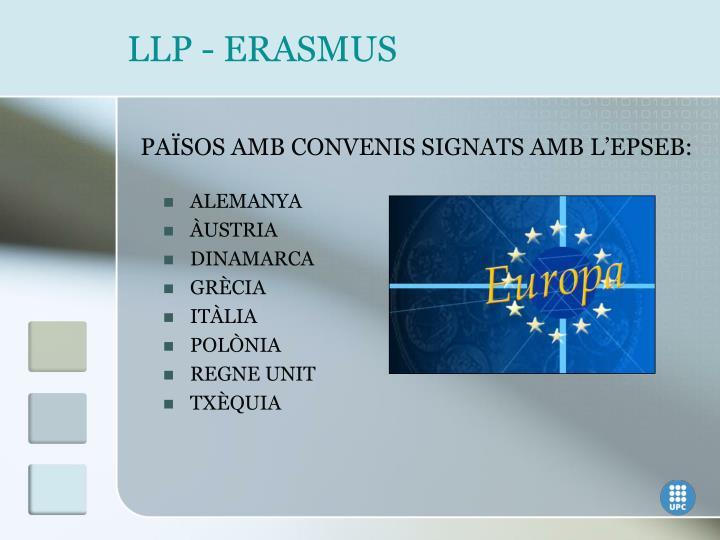 LLP - ERASMUS