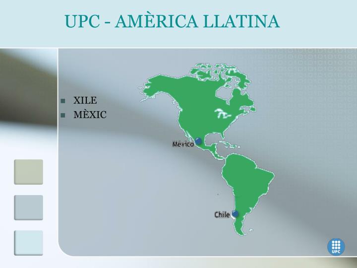 UPC - AMÈRICA LLATINA
