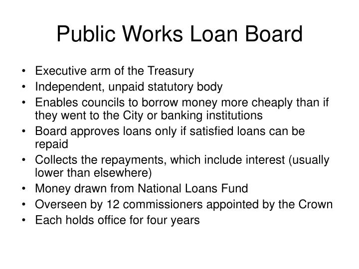 Public Works Loan Board