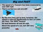 big and fast