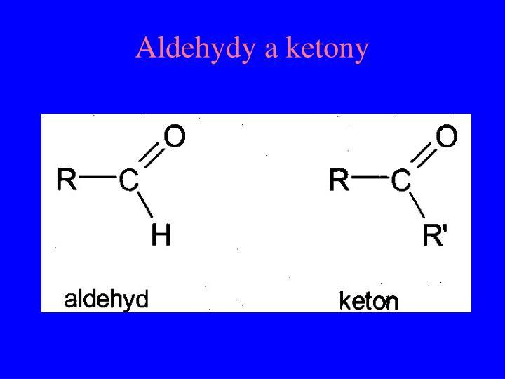 Aldehydy a ketony