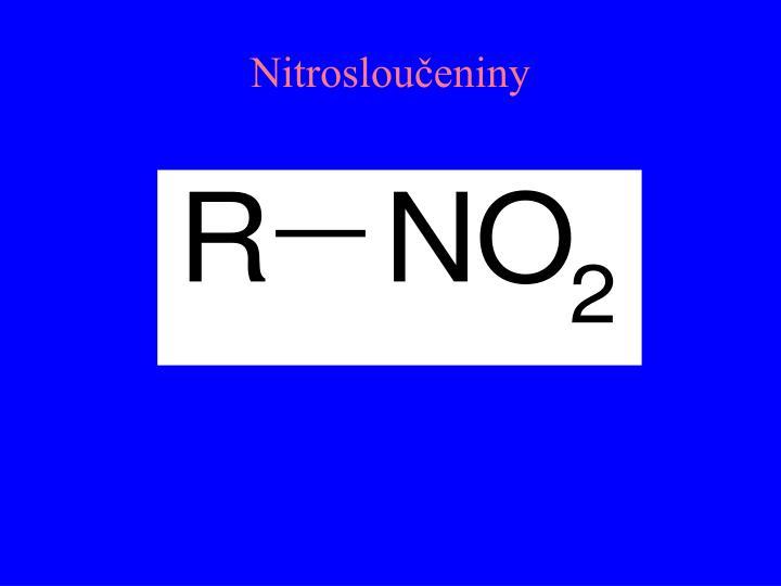 Nitrosloučeniny