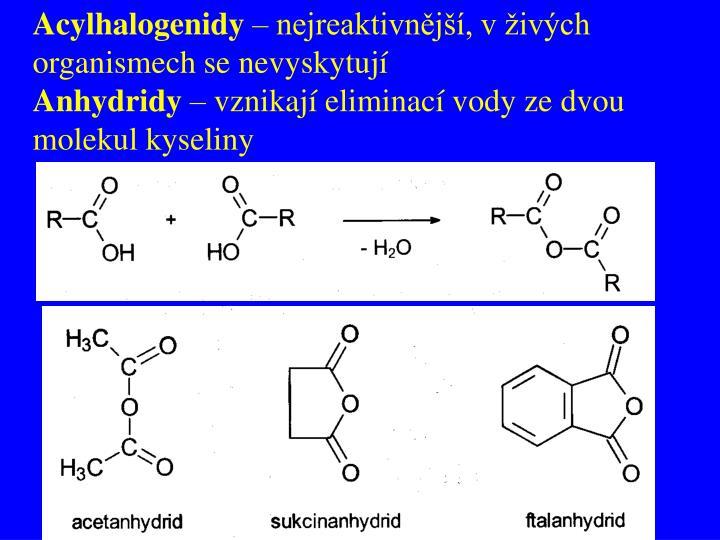 Acylhalogenidy