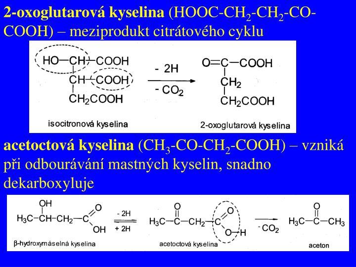 2-oxoglutarová kyselina