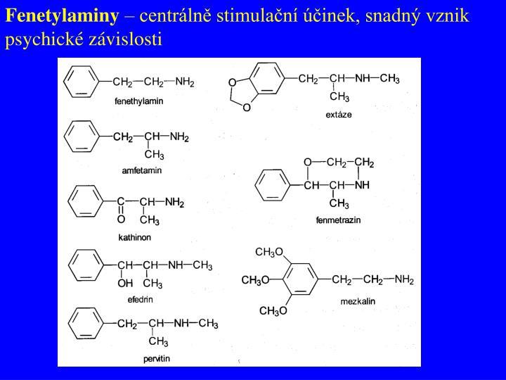 Fenetylaminy