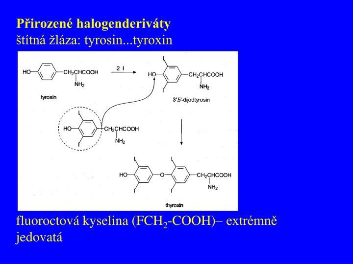 Přirozené halogenderiváty