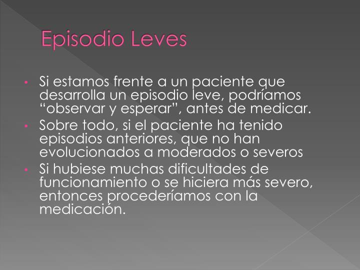 Episodio Leves