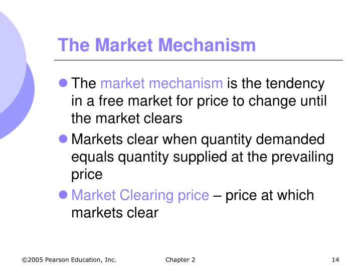 The Market Mechanism