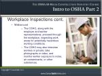 workplace inspections cont4
