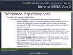 workplace inspections cont7
