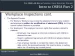 workplace inspections cont9