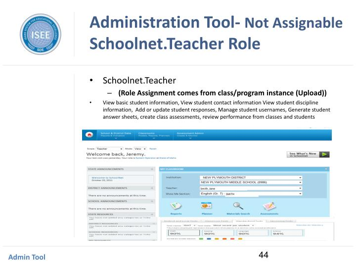 Administration Tool-