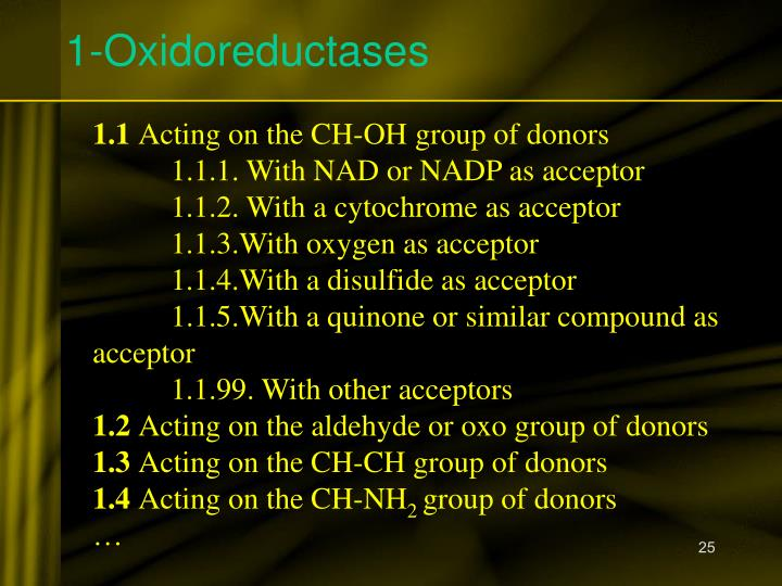 1-Oxidoreductases