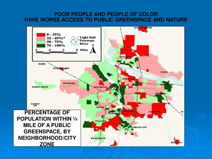 POOR PEOPLE AND PEOPLE OF COLOR