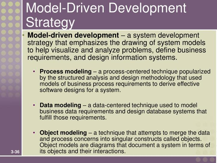 Model-Driven Development Strategy