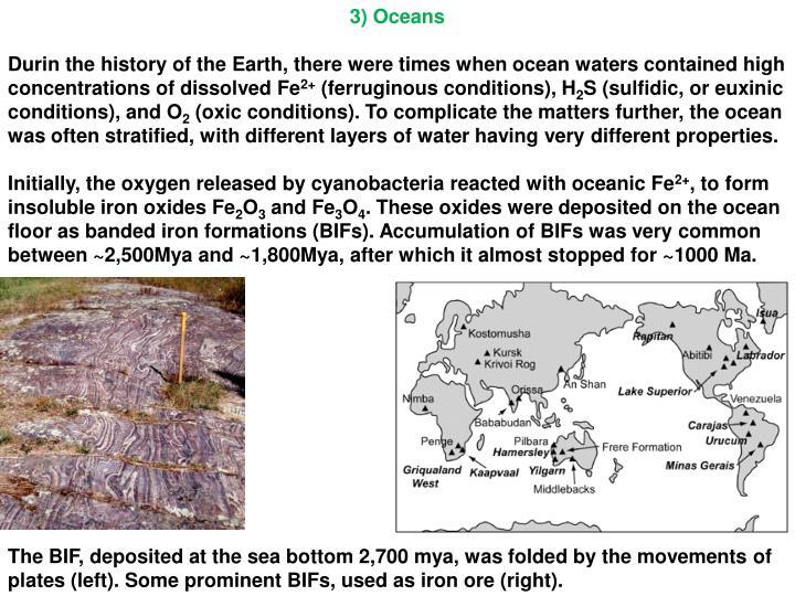 3) Oceans