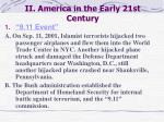 ii america in the early 21st century