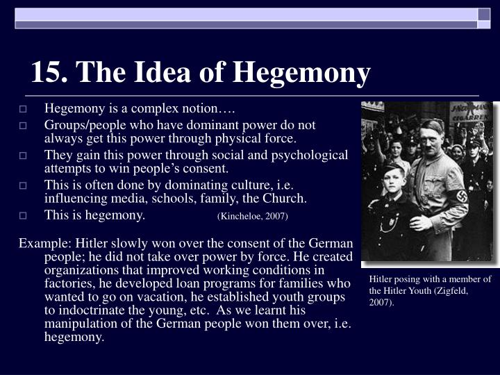 15. The Idea of Hegemony