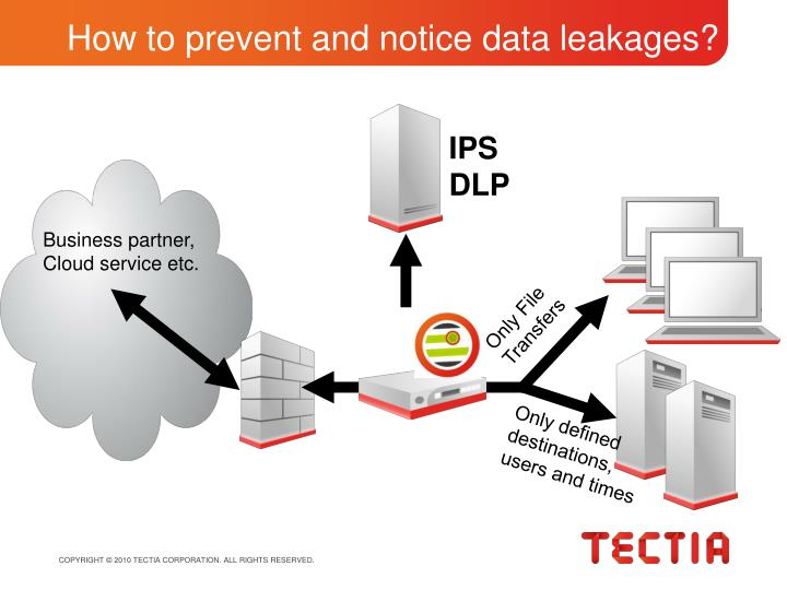 How to prevent and notice data leakages?
