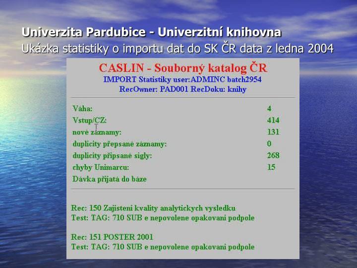Univerzita Pardubice - Univerzitní knihovna