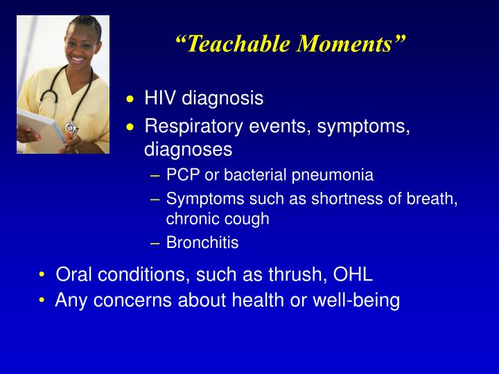 """Teachable Moments"""