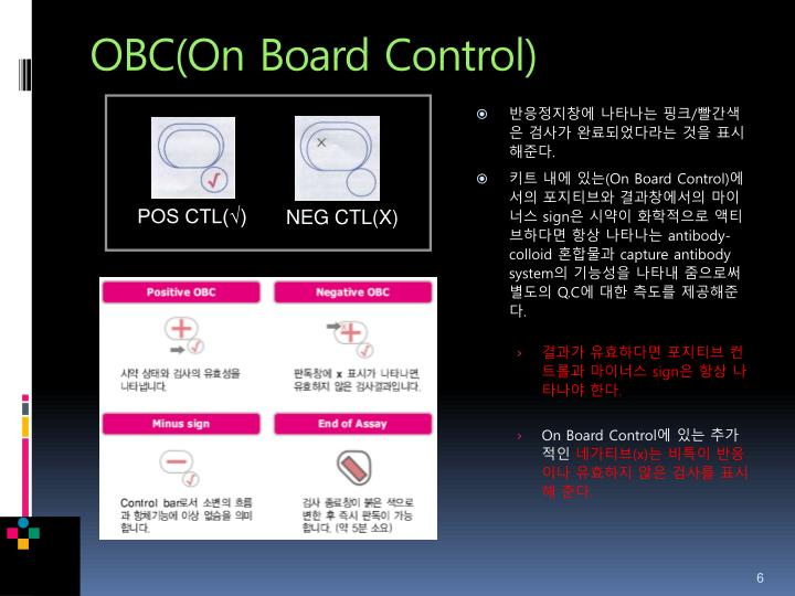 OBC(On Board Control)