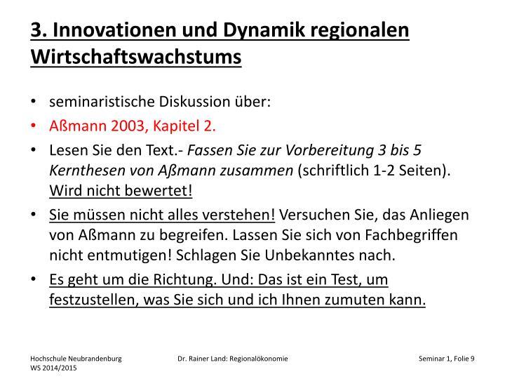 3. Innovationen