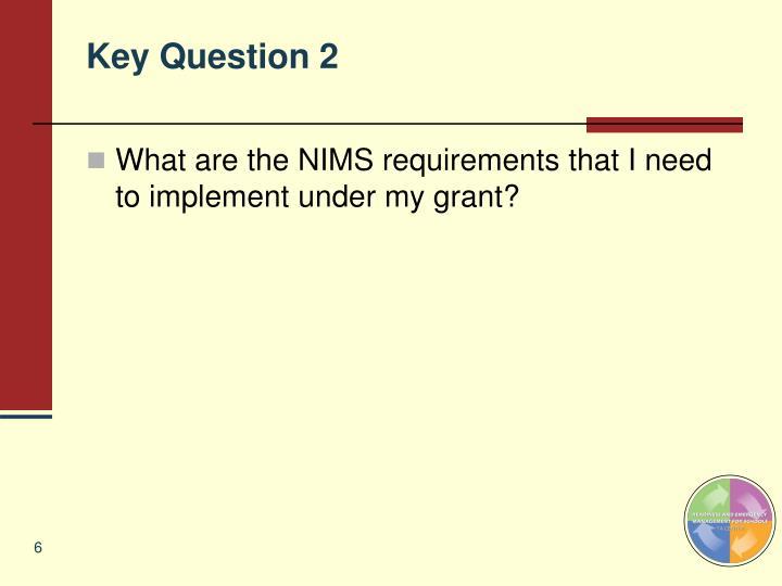 Key Question 2