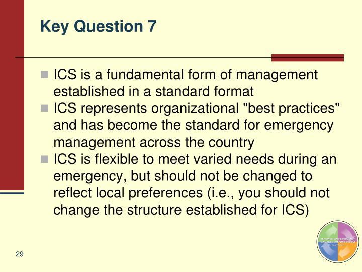 Key Question 7