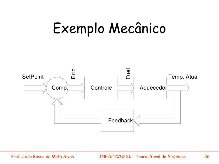 Exemplo Mecânico