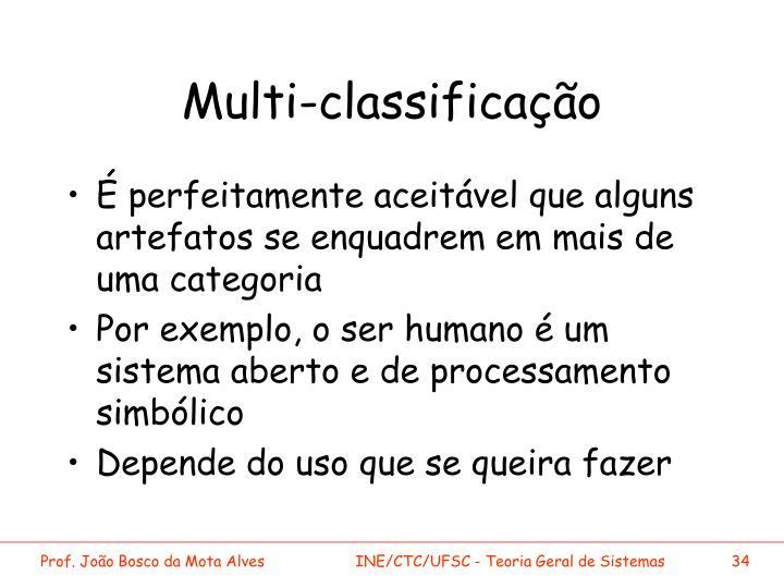 Multi-classificação