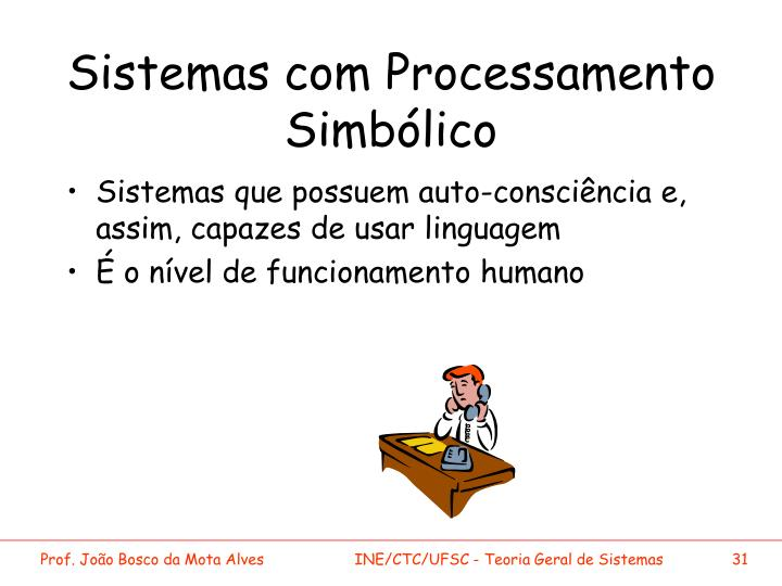 Sistemas com Processamento Simbólico