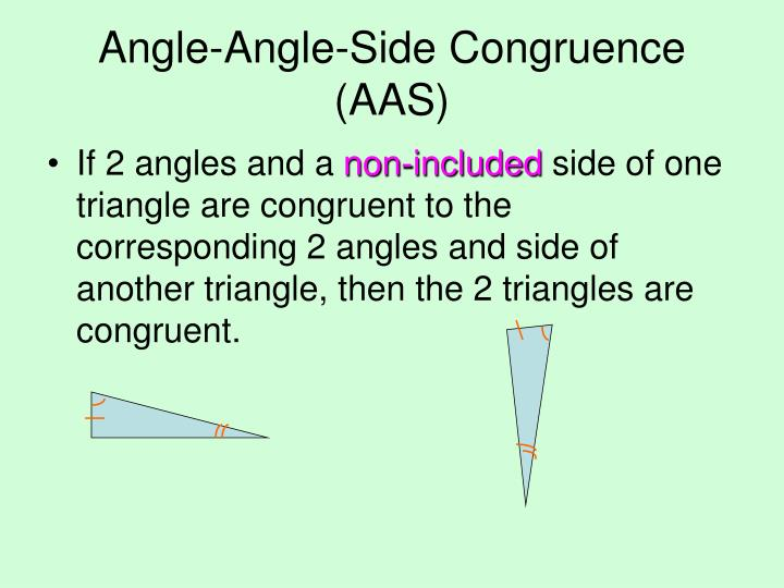 Angle-Angle-Side Congruence