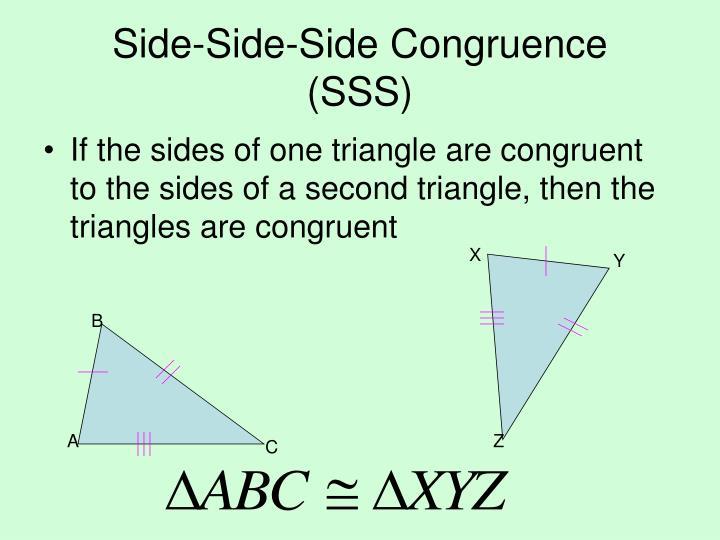 Side-Side-Side Congruence