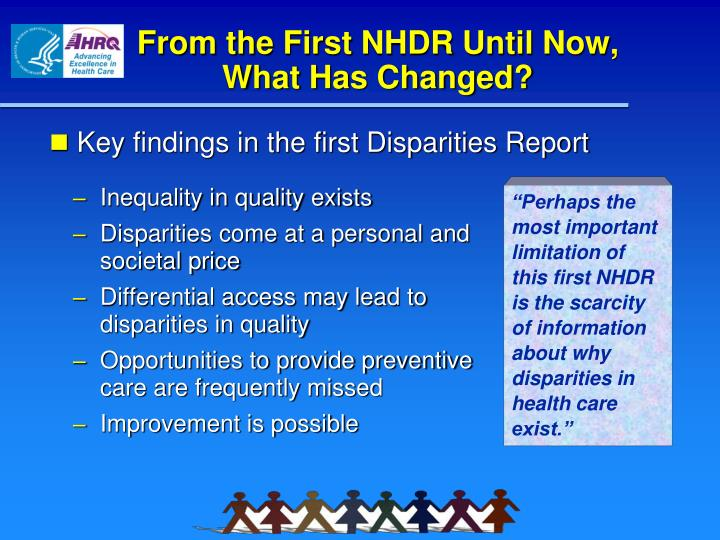 From the First NHDR Until Now,