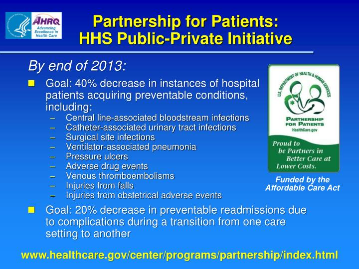 Partnership for Patients: