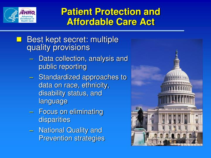 Patient Protection and