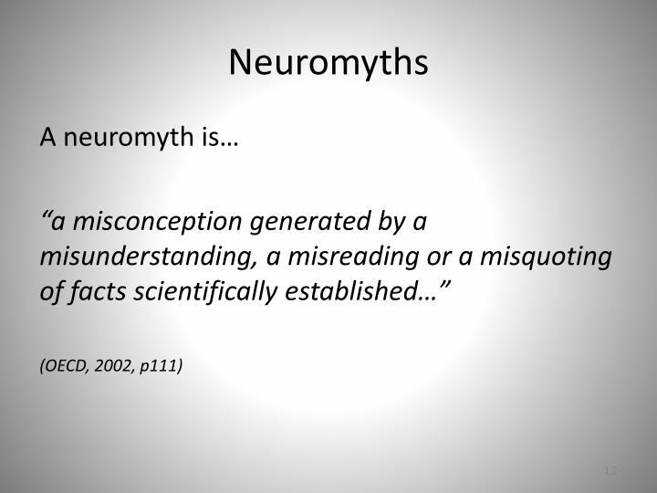 Neuromyths