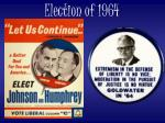 election of 1964