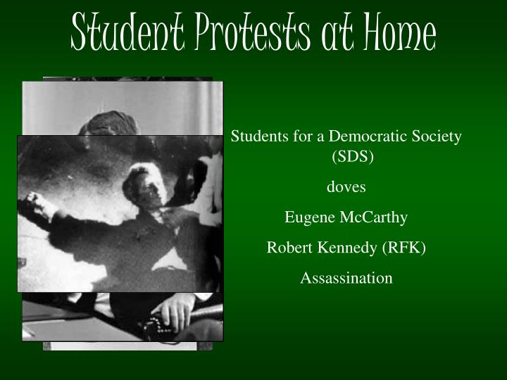 Student Protests at Home